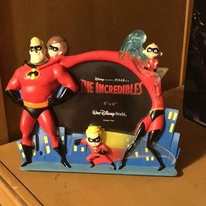 """Other - The Incredibles Picture Frame 4"""" x 6"""" Walt Disney"""